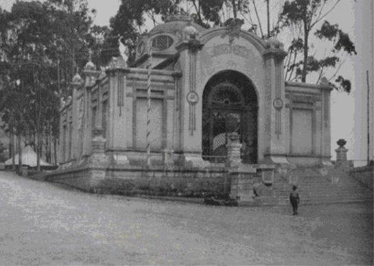 Pabellón de Bellas Artes, Exposición del Centenario. Bogotá, 1910.